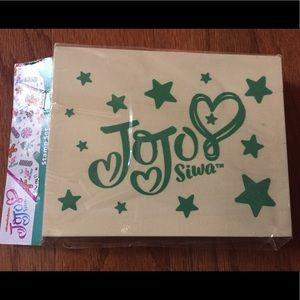 New in package JoJo Siwa Box exclusive stamp set